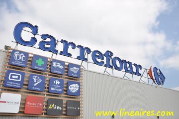 Carrefour heureux de son trimestre