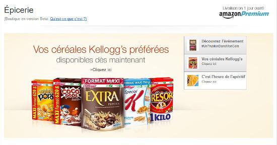 Comment Amazon construit son offre alimentaire