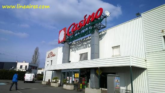 L'un des supermarchés Casino repris en 2017 par la famille Zouari
