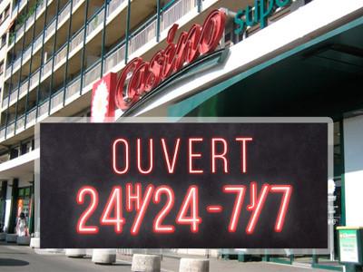 Le phénomène des supermarchés 24/24 se répand en France