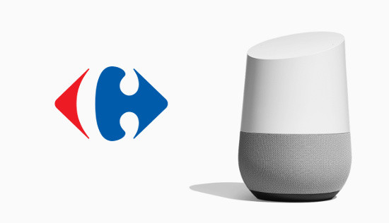 Carrefour signe avec Google pour les courses en ligne