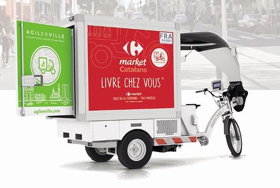 Vélo cargo, robot autonome : la livraison urbaine française change de visage