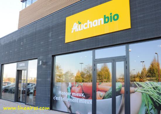 Créée en 2017, l'enseigne Auchan Bio n'aura pas vécu longtemps