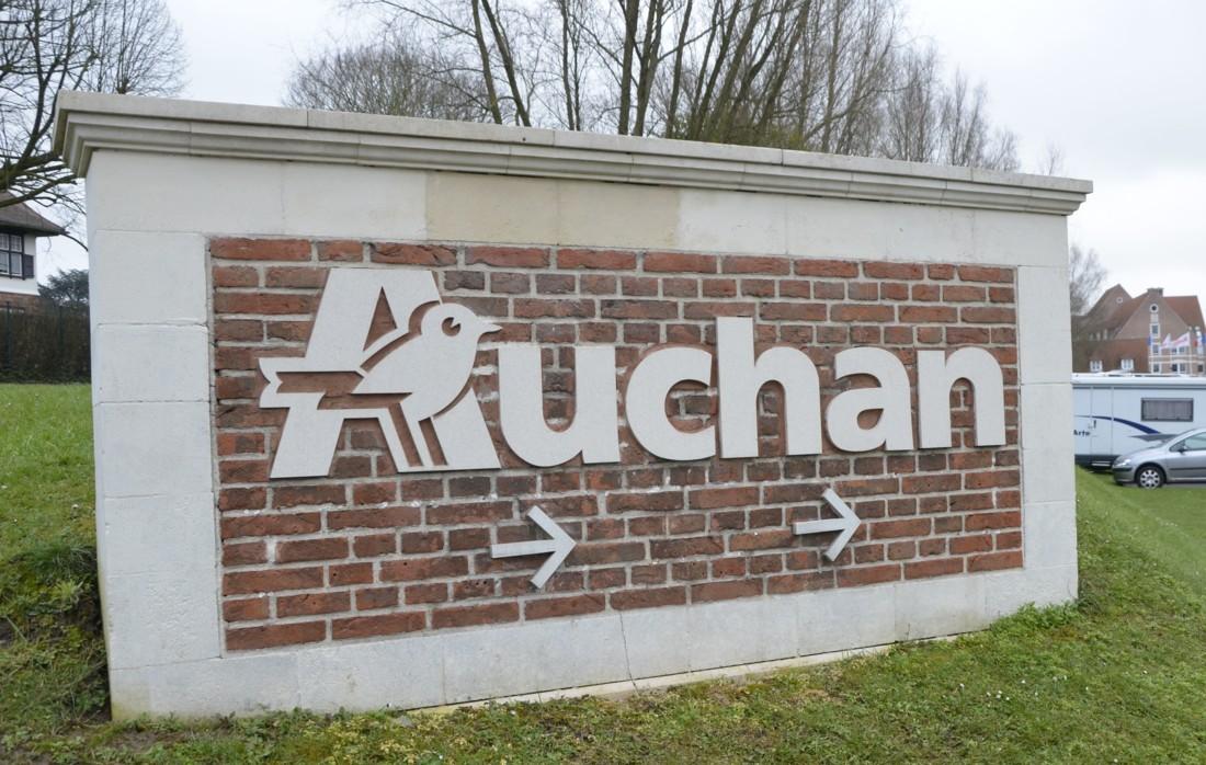 Le siège d'Auchan à Croix (59) - Photo : Linéaires.