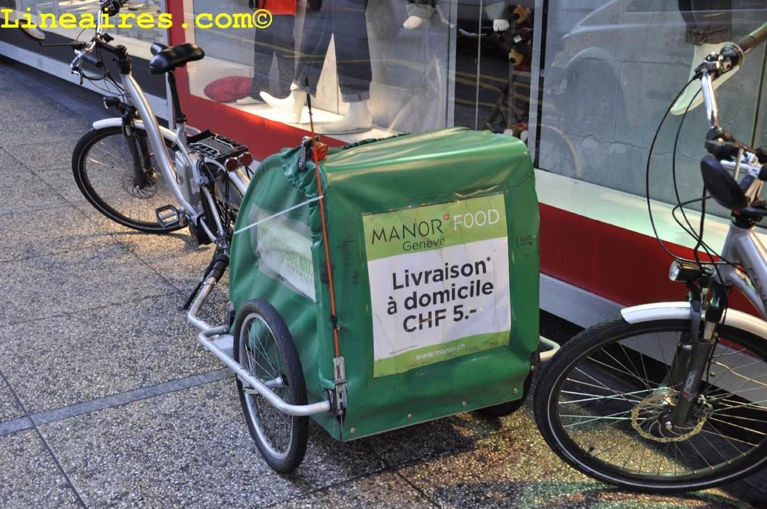 Livraison à domicile en vélo