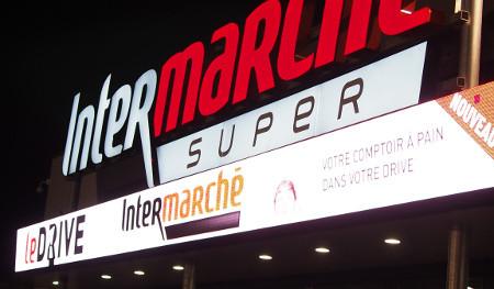 Intermarché Libourne sur grand écran
