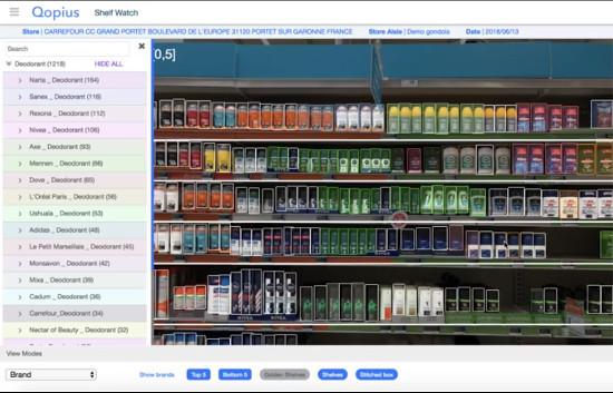 Carrefour teste la reconnaissance automatique des produits dans ses hypers français