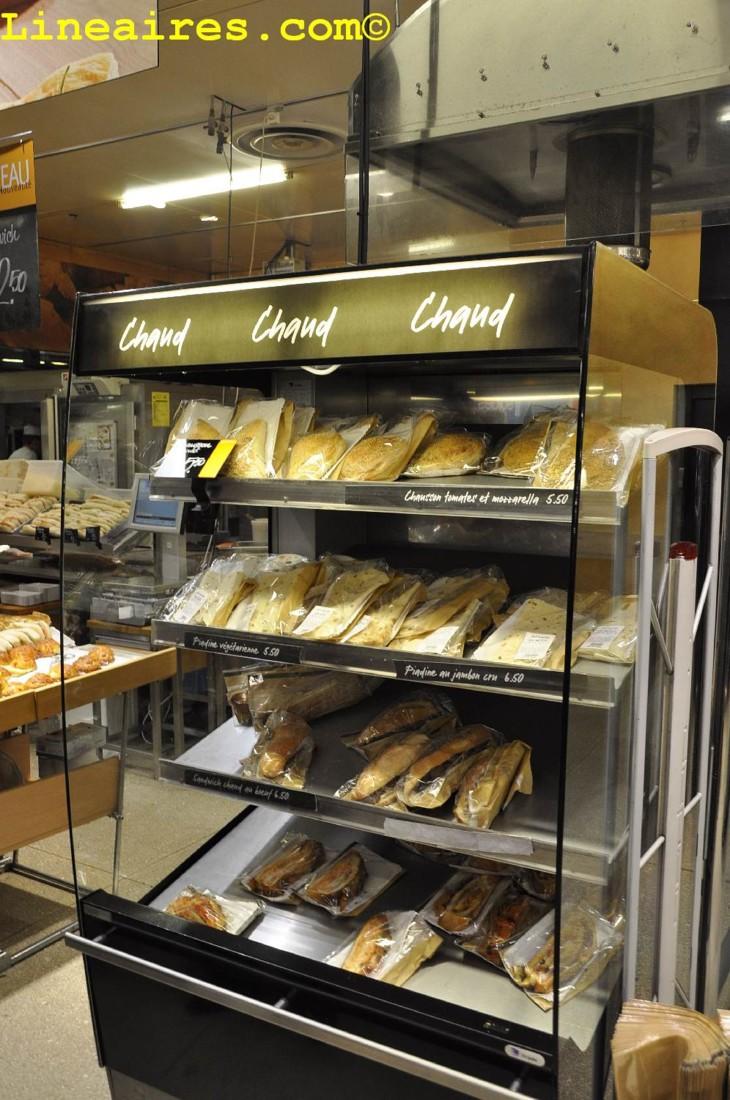 Une armoire de snacks (vraiment) chauds