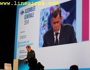 Carrefour: le discours commerce de Georges Plassat