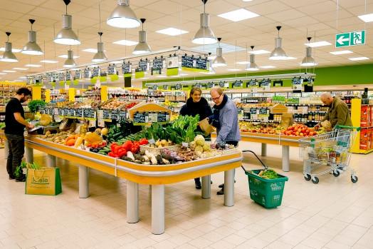 Les magasins So.bio s'étendent sur 500 mètres carrés en moyenne