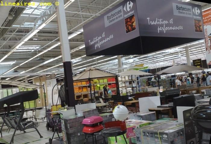 Nouveau Carrefour La Fin Du Chantier Les Magasins Lineaires