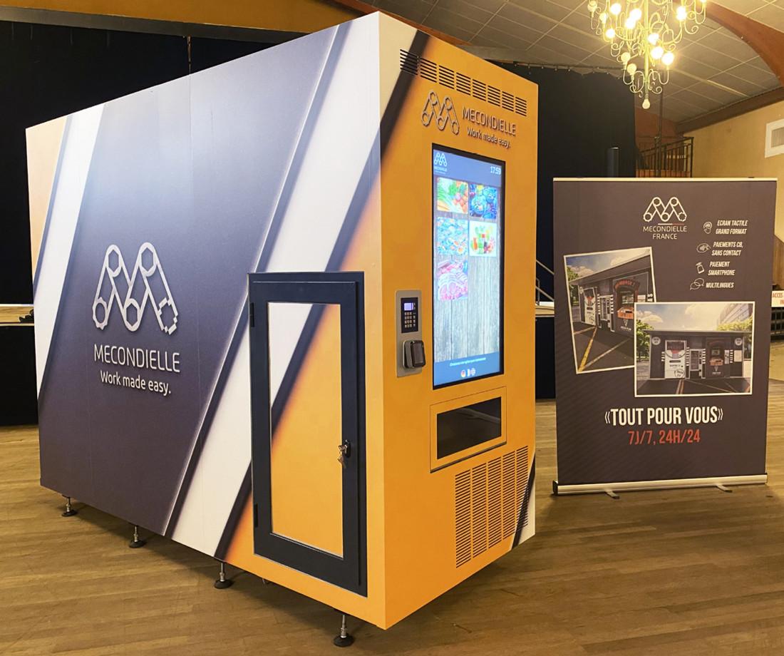 Le distributeur automatique multiproduits de Mecondielle