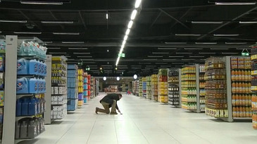 Vidéo : l'ouverture du Leclerc de Romorantin
