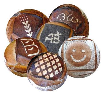 Un tapis marqueur pour personnaliser les pains