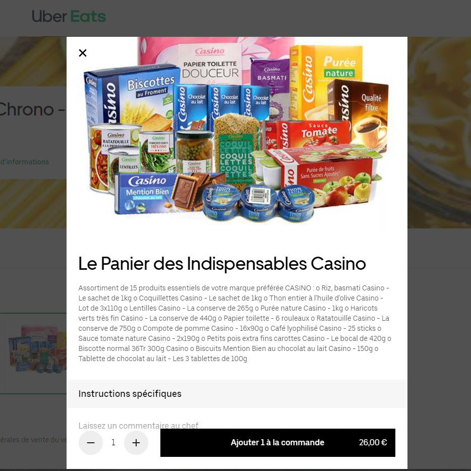Casino et Uber Eats : un partenariat de courte durée ?