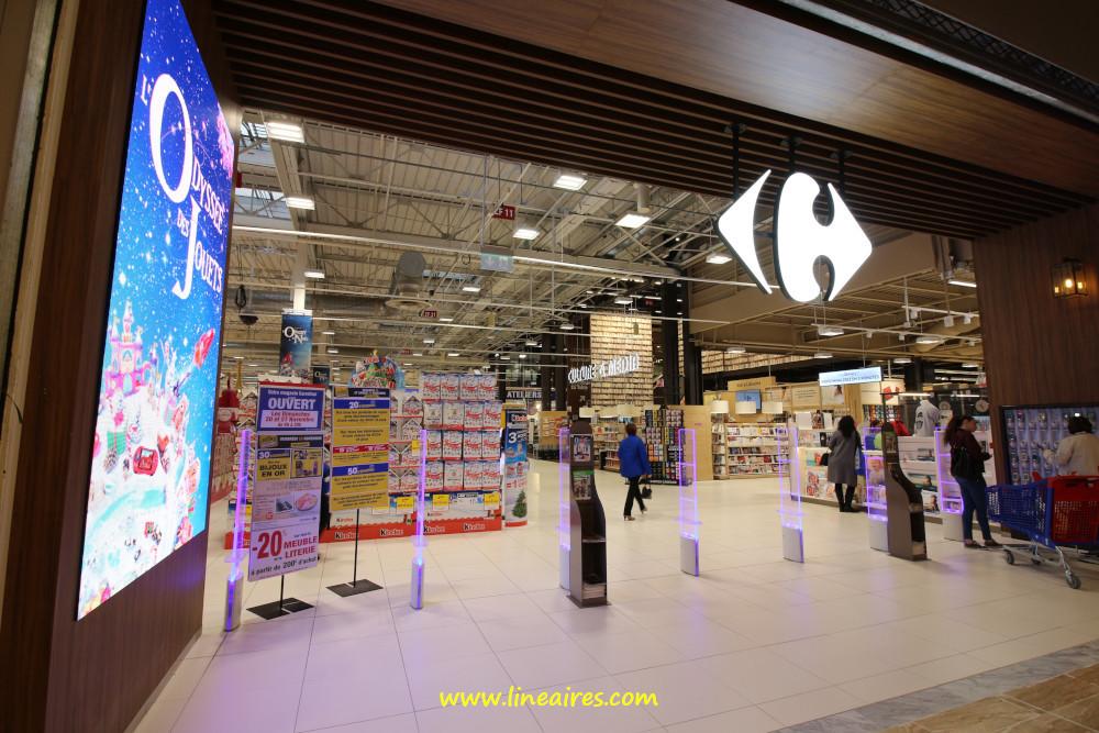 Les ventes de Carrefour dévissent en France, mais la rentabilité progresse