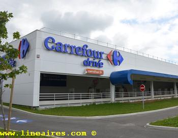 Carrefour développe ses drives entrepôts