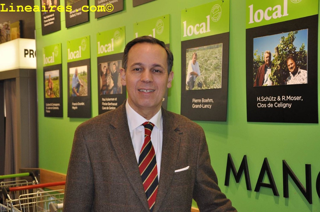François Valdivieso, Divisional merchandising manager des achats de Manor Food