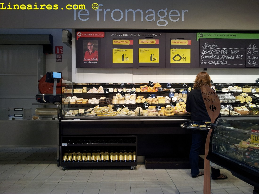 Market fromages