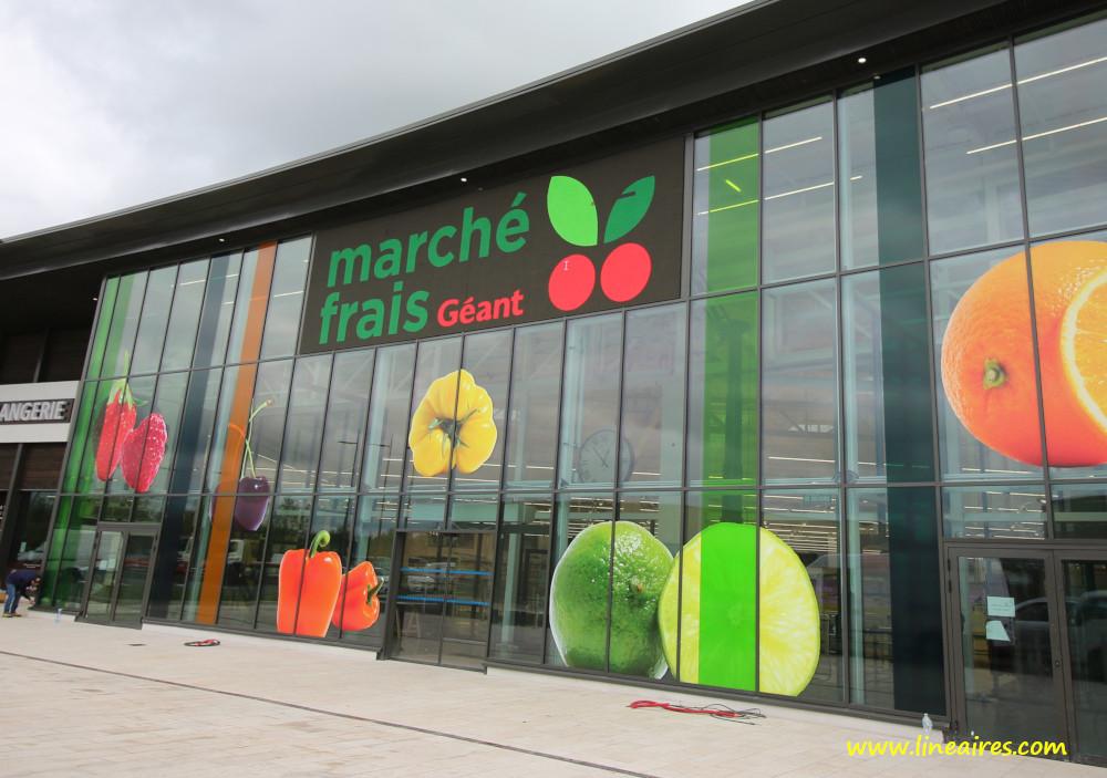 Les Halles d'Auchan de Meaux deviendront un Marché frais Géant